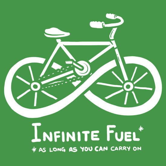 Infinite Fuel T Shirt By Italiux Andar En Bicicleta Citas De Ciclismo Citas De Bicicleta