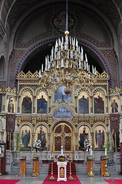 Uspensky Cathedral. Helsinki, Finland