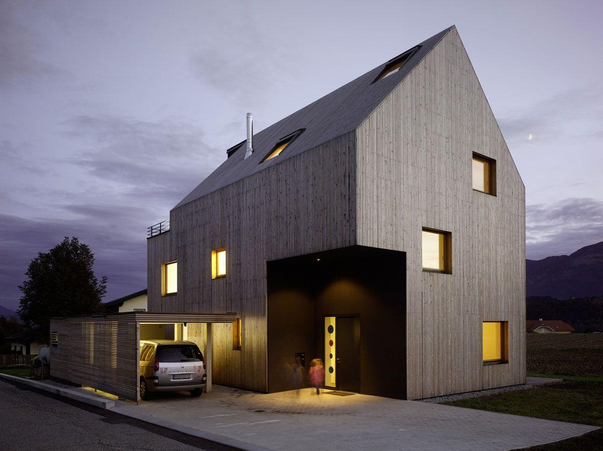 Alte wohnarchitektur haus für sechs by wildrich hien architekten  interesting building
