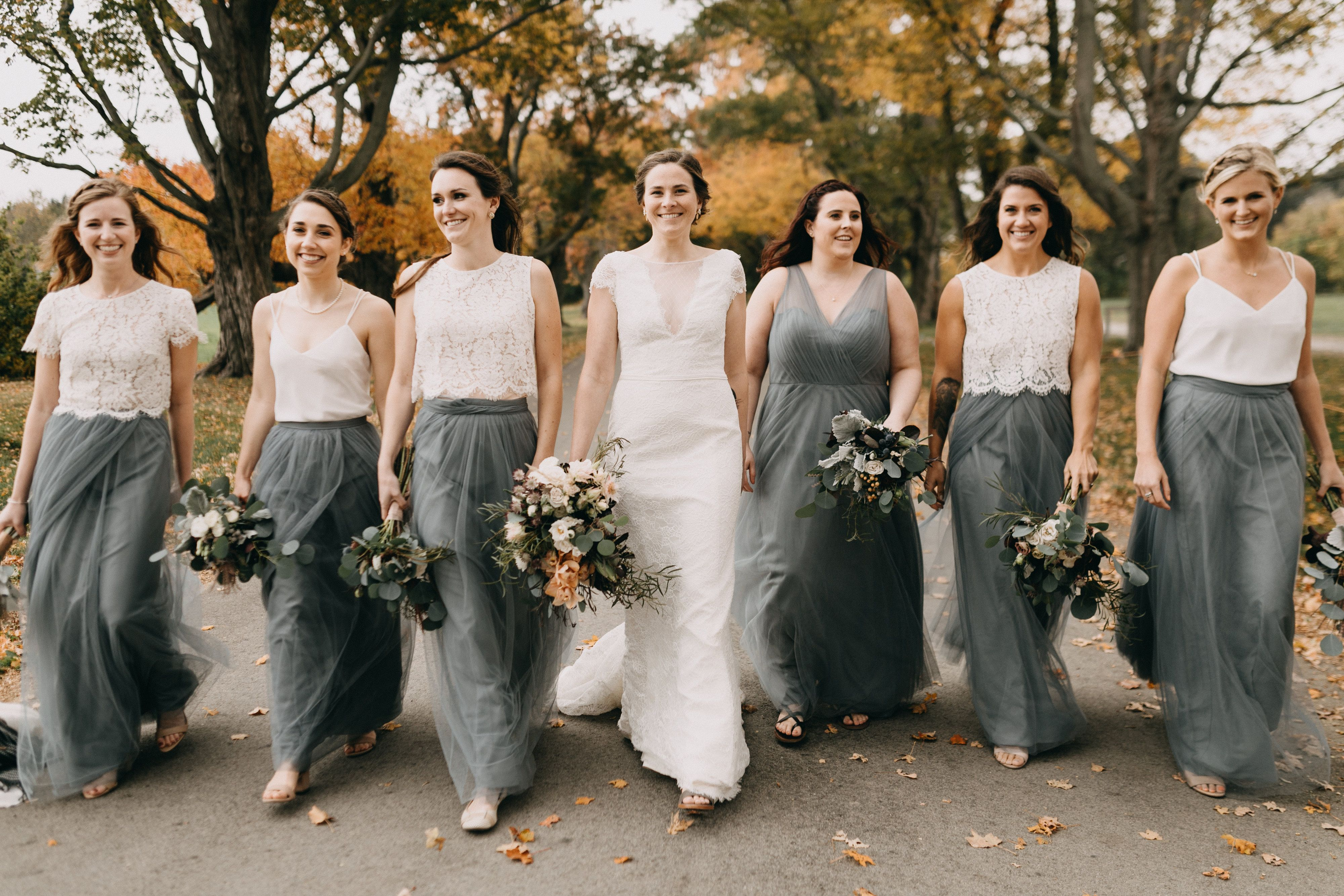 cheap price good selling free delivery Jenny Yoo Bridesmaids Separates • Long Tulle Bridal Party ...