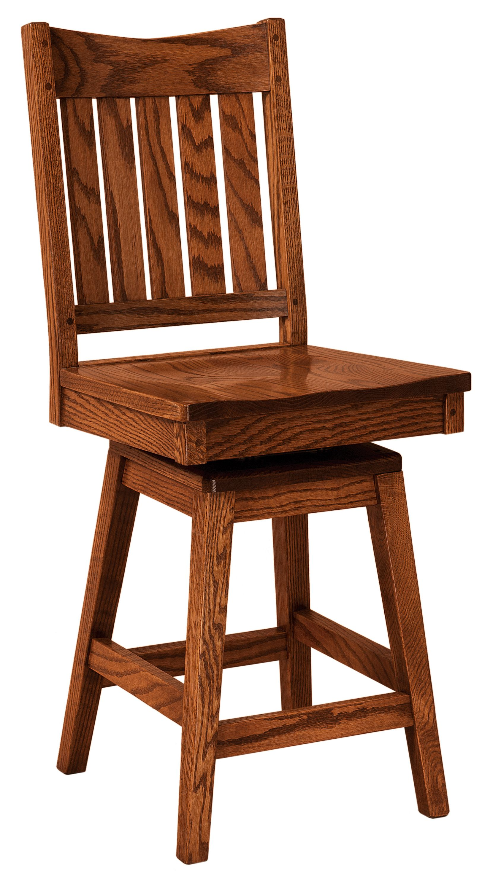 Exceptionnel Bar Chairs   Amish Oak In Texas