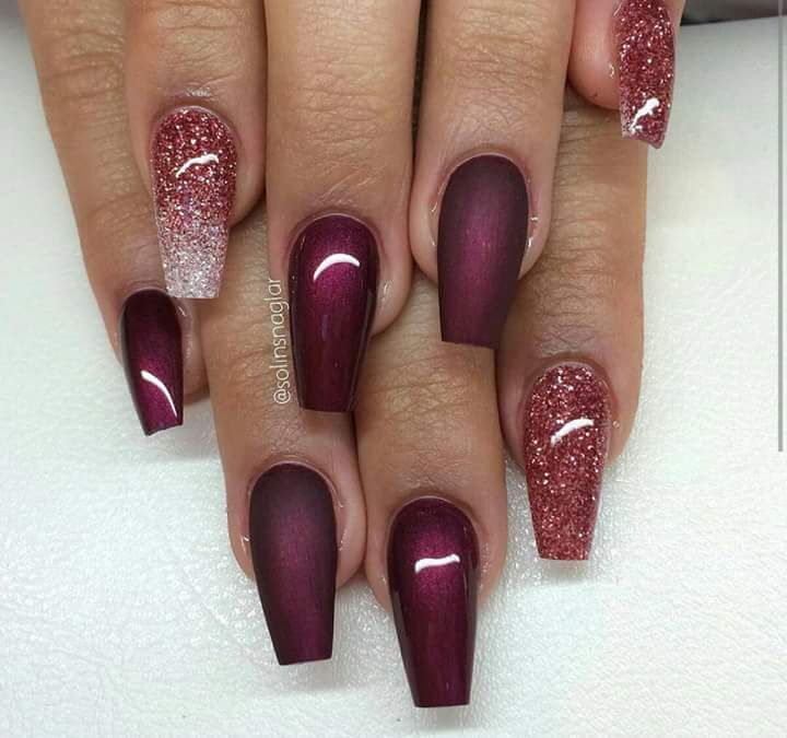 Pin by anna on krmk pinterest manicure beautiful glitter nail designs to make you look trendy and stylish page 21 of 84 nail polish addicted prinsesfo Choice Image
