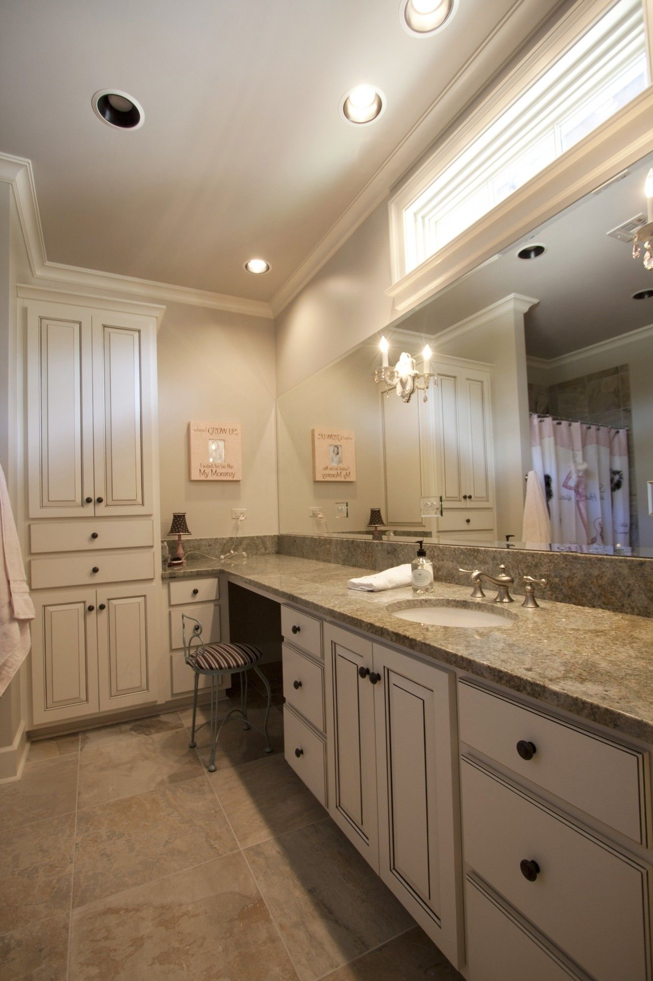 Glazed Bathroom Vanity Cabinets Northshore Millwork LLC - Custom bathroom vanities online for bathroom decor ideas