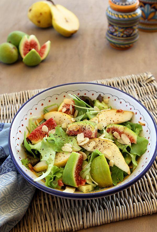 Italian Food Forever » Fall Pear & Fig Salad