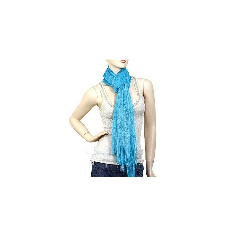"""Polyester Scarf 82"""" x 19"""" - Multiple Colors - Endless Xpressions"""