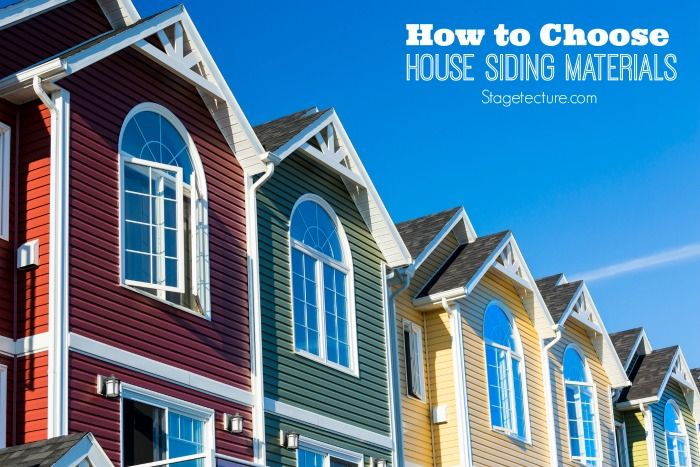 Top Tips For Choosing The Right House Siding Materials Outdoor