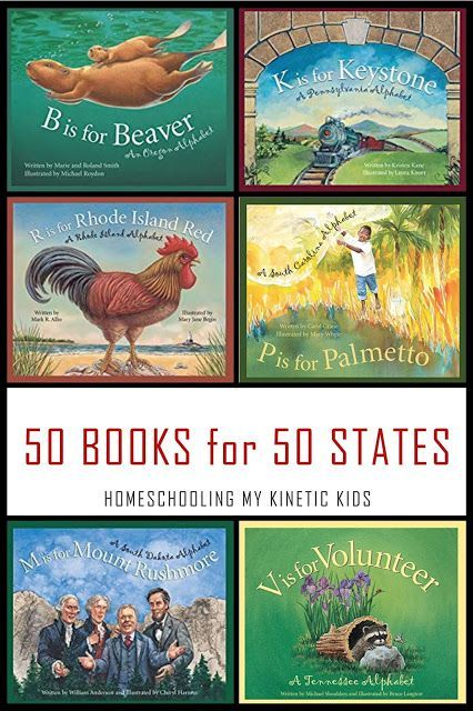 Photo of A Book for Every State in the Union!