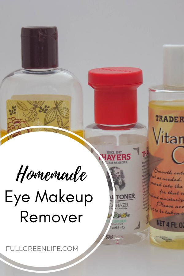 NonToxic DIY Eye Makeup Remover Eye makeup remover, Diy
