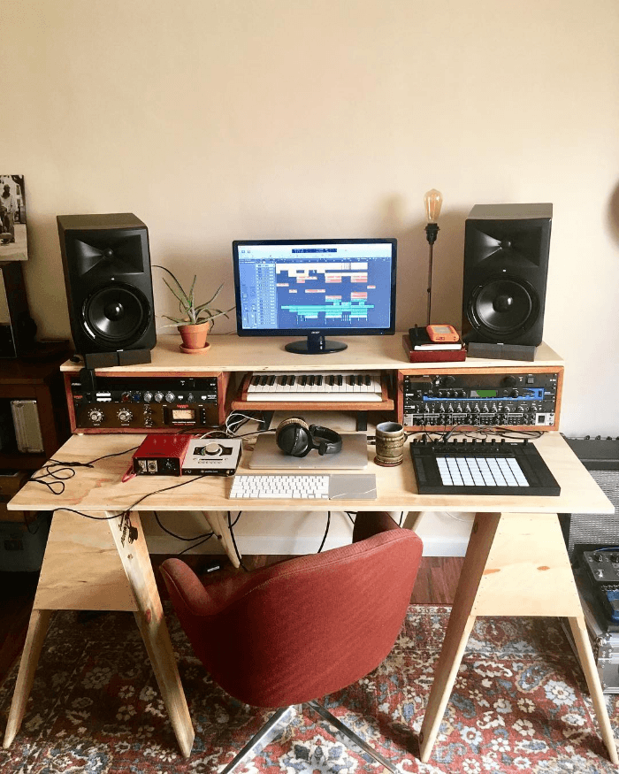 Small Apartment Music Studio Home Music Rooms Home Studio Setup Home Studio Desk