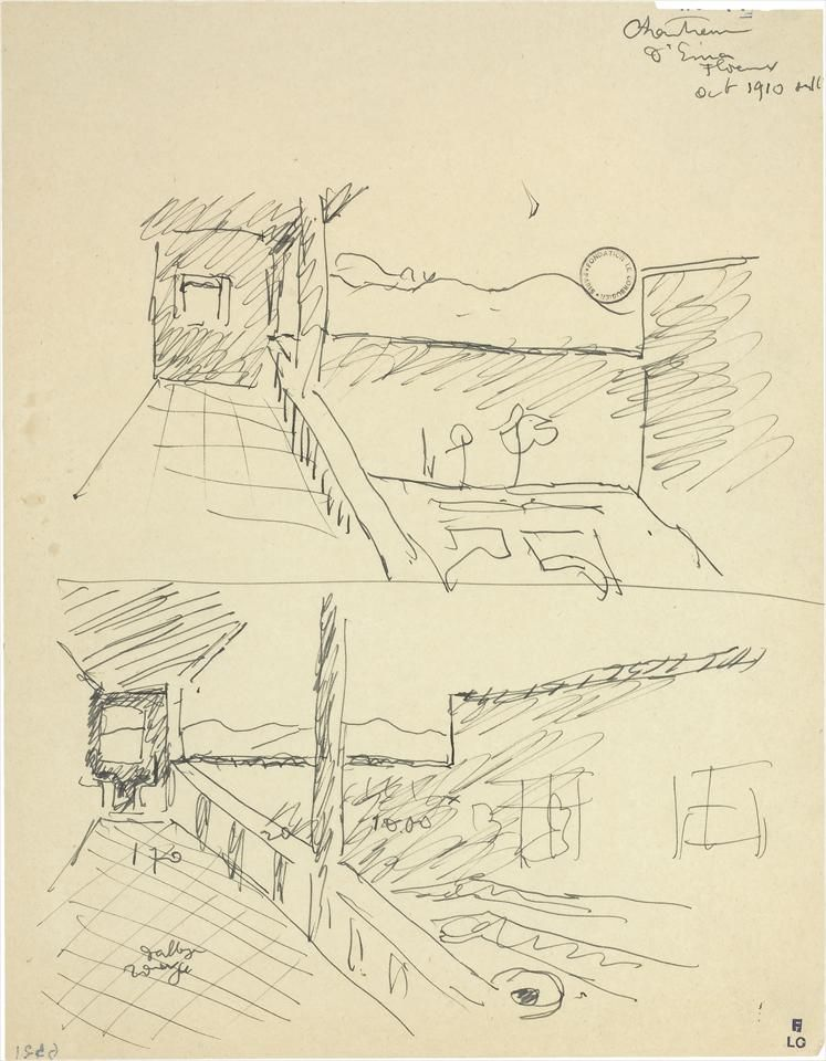 le corbusier stylized sketch of the raven - Google Search