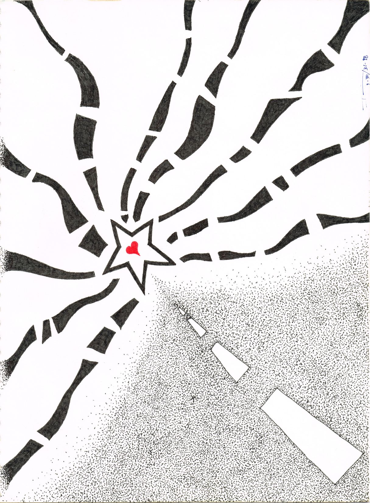 The Road To Happiness - ink
