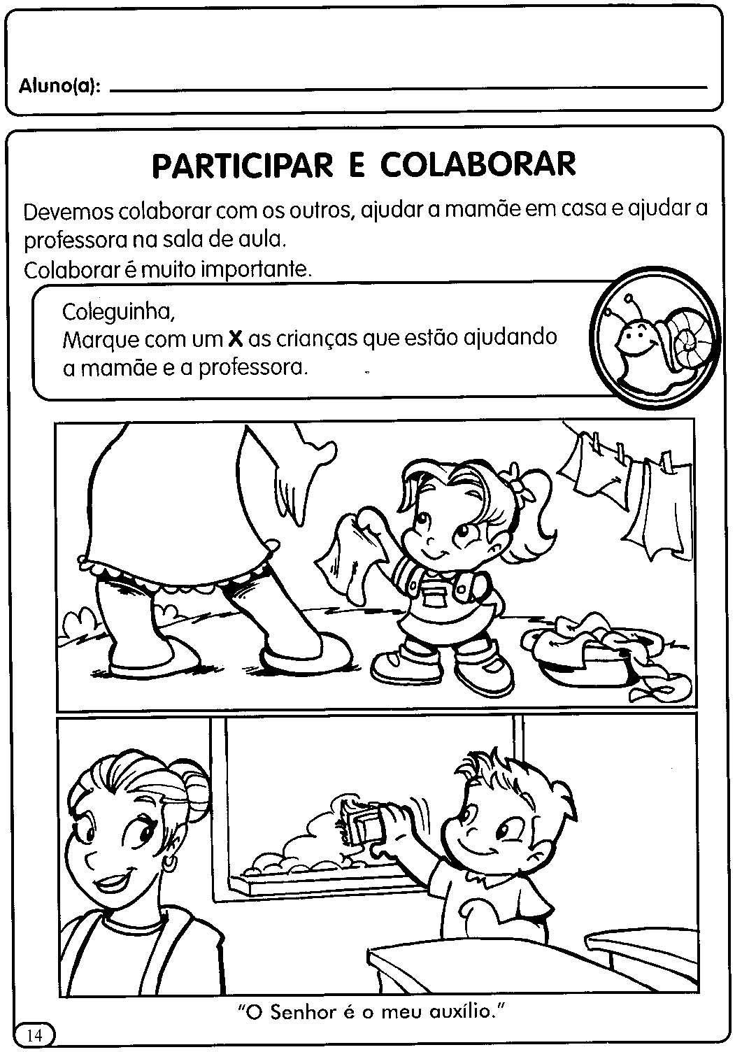 Atividades Para A Educacao Infantil Valores E Boas Maneiras Com