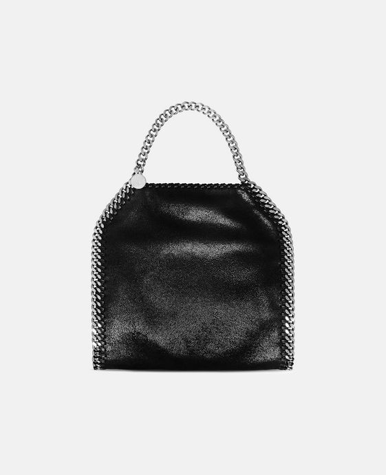 9d56b6e373 Shop the Black Falabella Shaggy Deer Mini Tote by Stella Mccartney at the  official online store