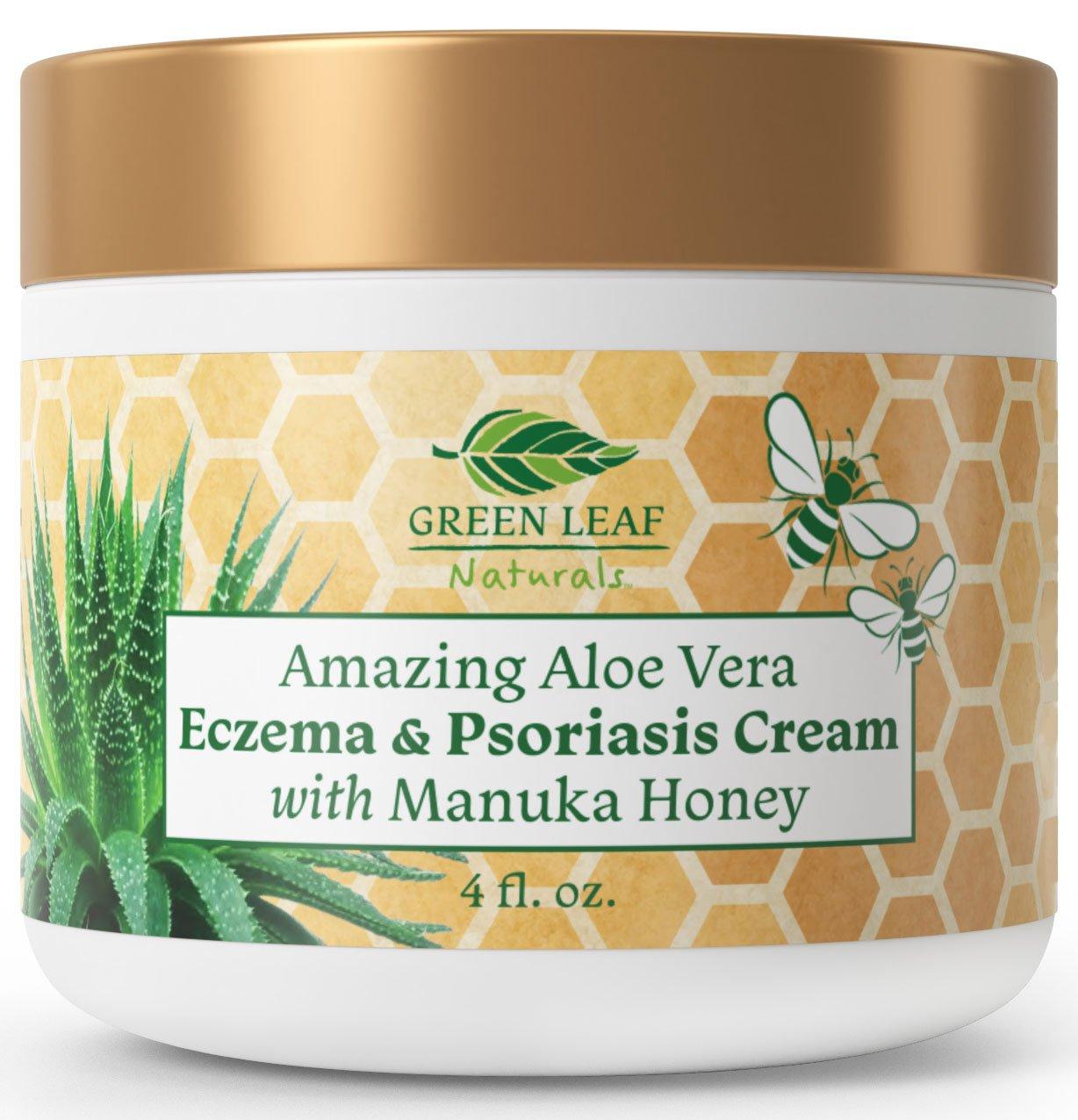 Amazing Aloe Vera Eczema Psoriasis Cream With Manuka Honey Psoriasis Cream Moisturizing Face Cream Moisturizer Cream