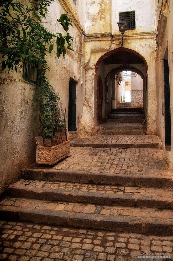 Nowdays A narrow street in the