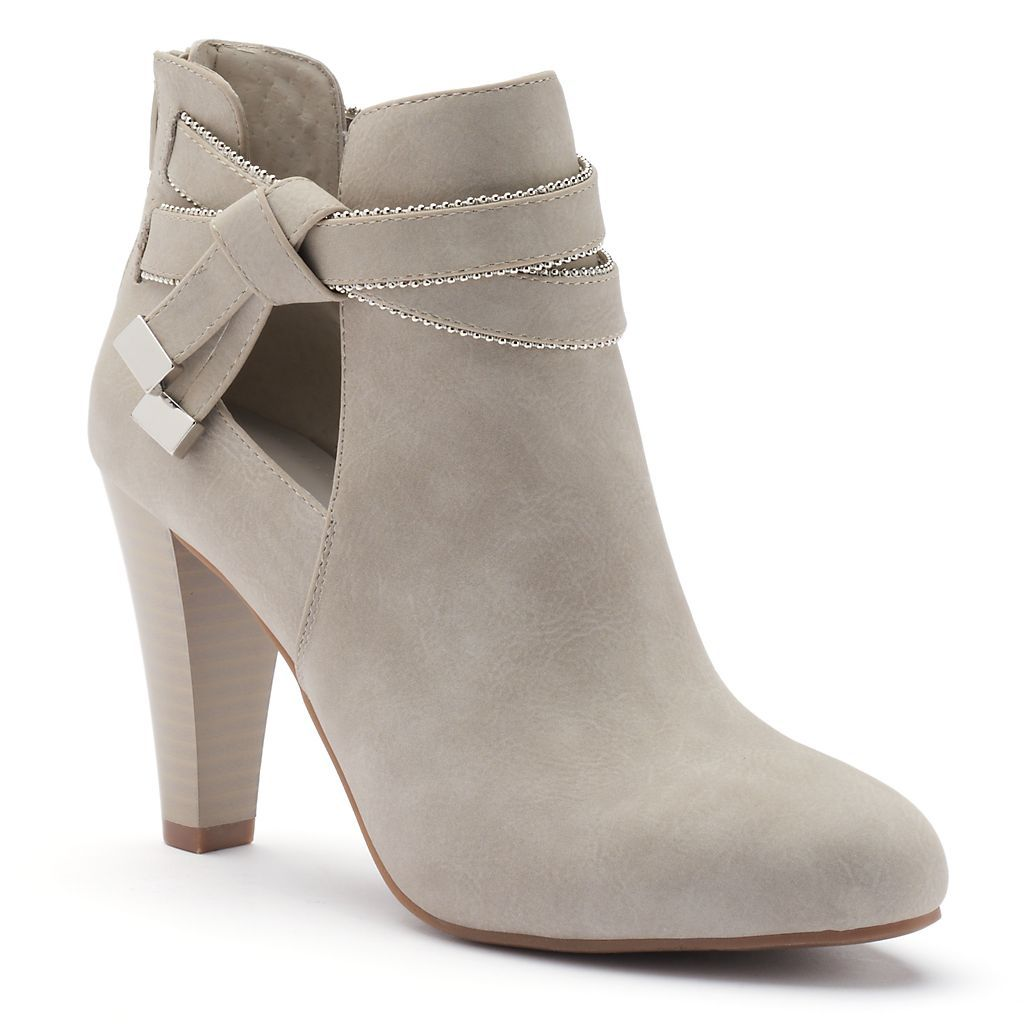 High heel boots ankle, Boots