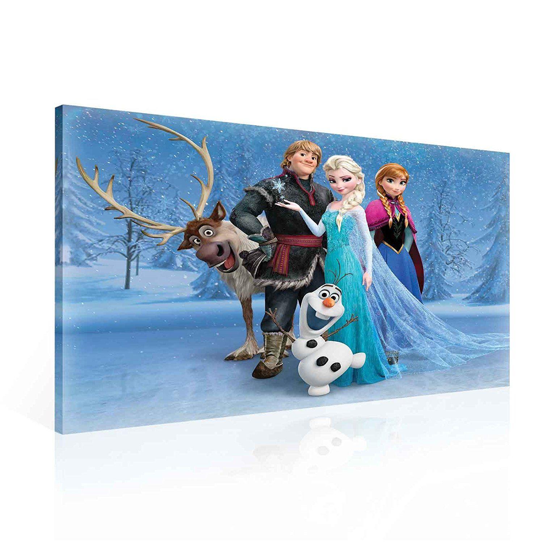 ❄ Frozen Kinderzimmer: Disney Frozen Elsa Eiskönigin Anna Olaf ...