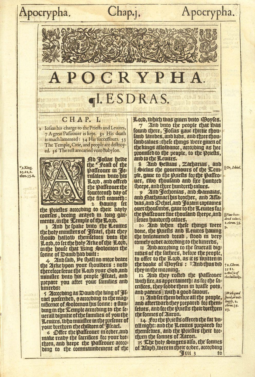 Bible - King James Version - Apocrypha [YouTube] - Various