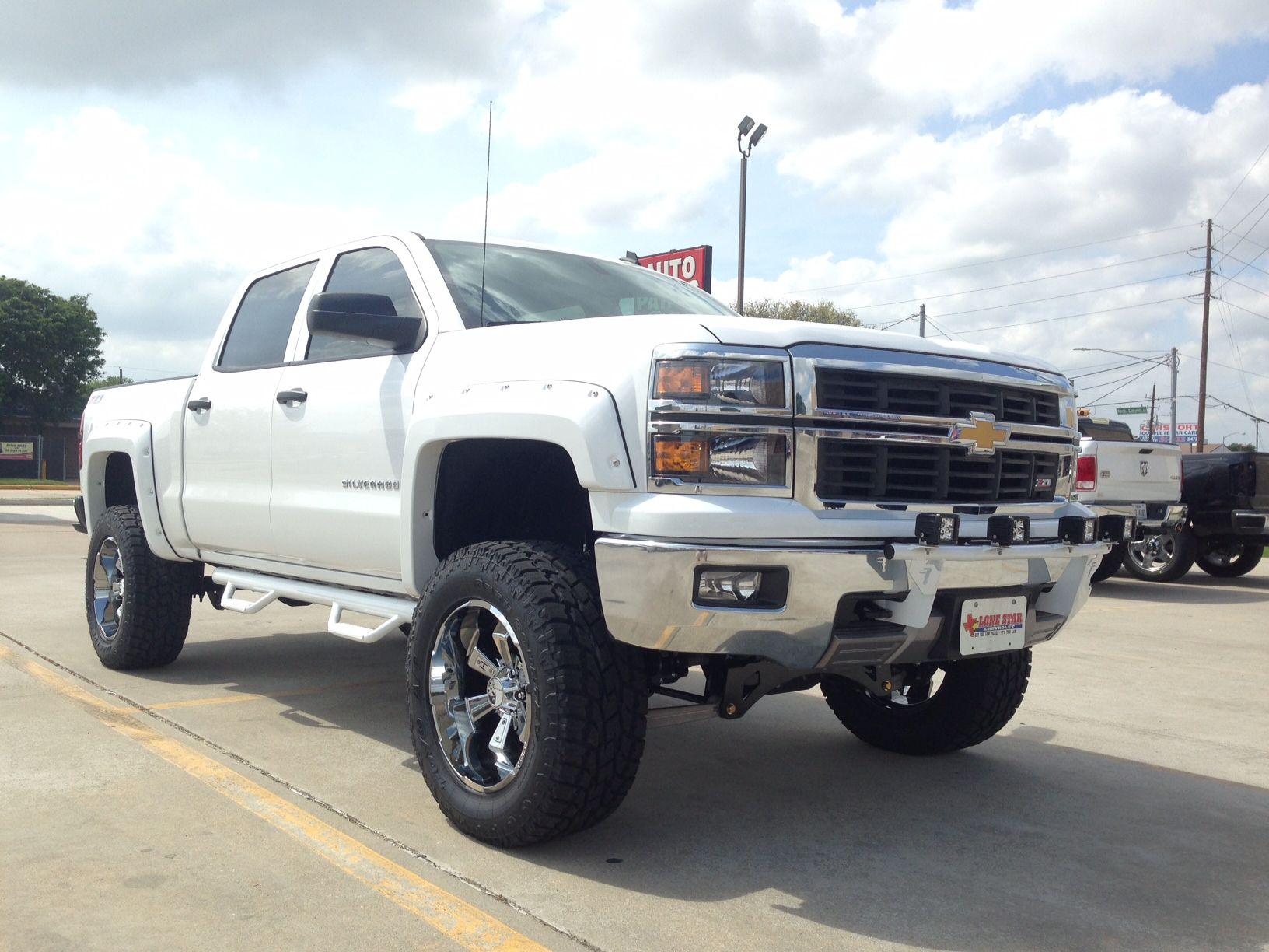 N Fab Light Bar Chevrolet Silverado 1500 Gloss Black