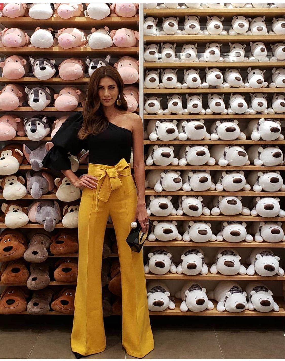 By Andrea Serna Pantalones De Vestir Mujer Prendas Elegantes Pantalones De Moda