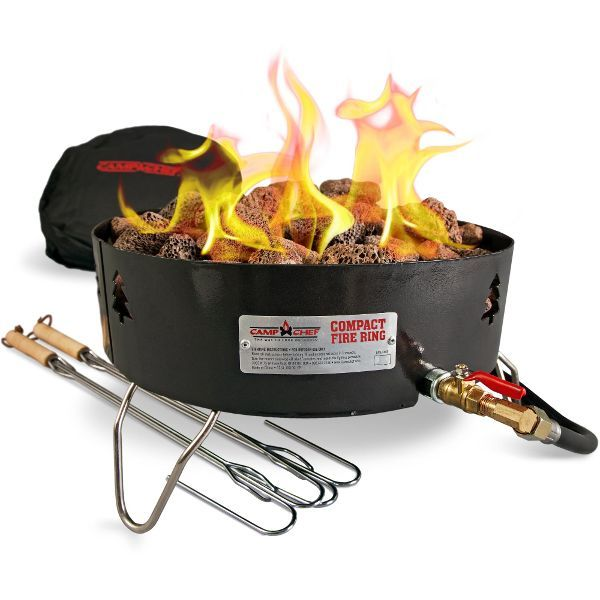 Compact Propane Fire Pit With Bag With Images Gas Firepit Portable Propane Fire Pit Propane Fire Pit Kit