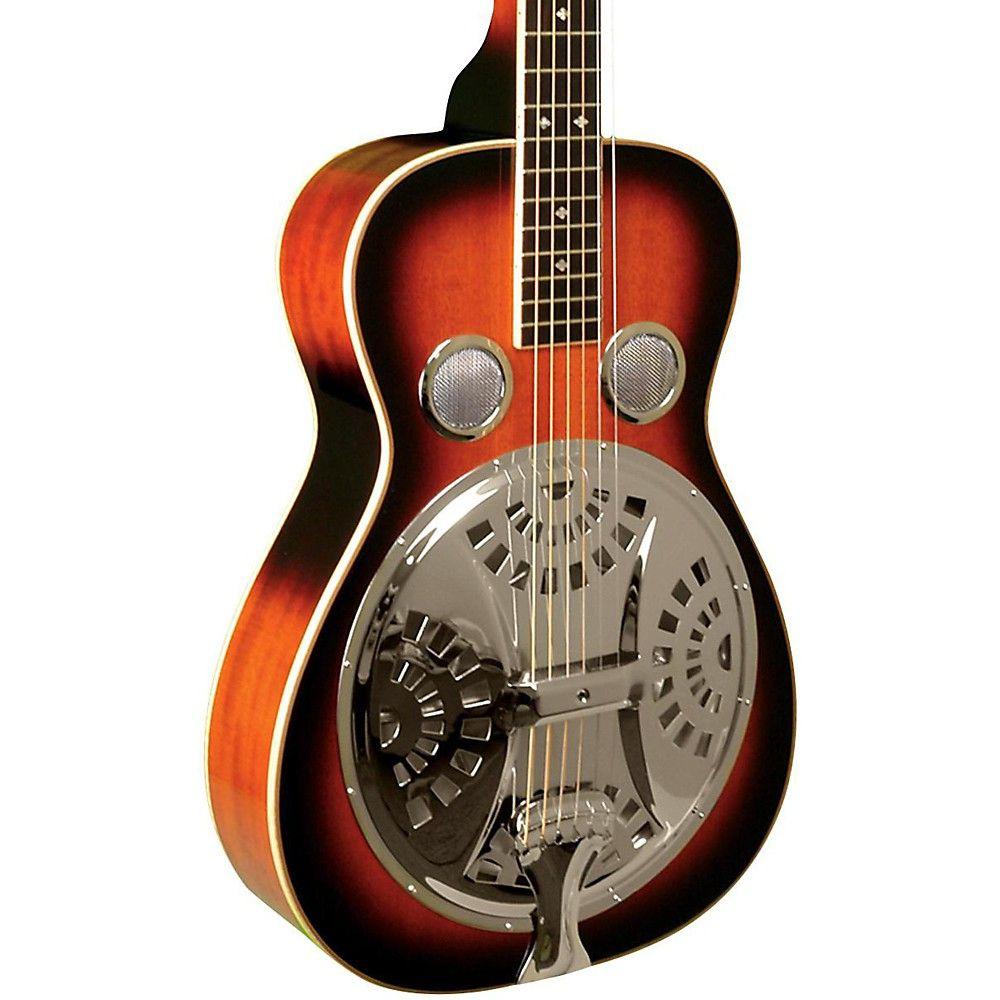 PBS-M Paul Beard Squareneck Resonator Guitar Tobacco