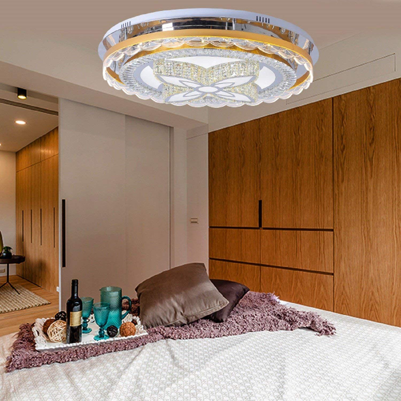Waineg Moderne Luxus Atmosphare Runde Led Deckenleuchte Wohnzimmer