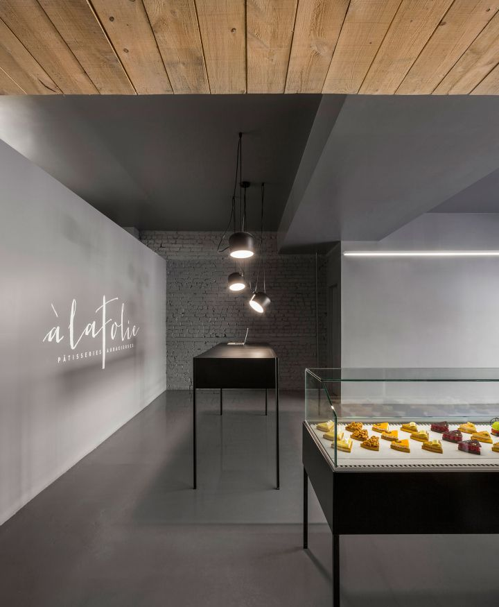 Built By Atelier Moderno,Anne Sophie Goneau In Montréal, Canada With Date  Images By Stéphane Groleau. The Design Of The New Address Of The Patisserie  À La ...