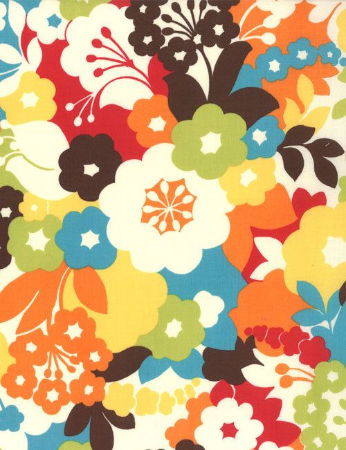 Oh Deer Japanese fabric by Momo for Moda, Blossoms in Meadow-1 Yard. $10.00, via Etsy.
