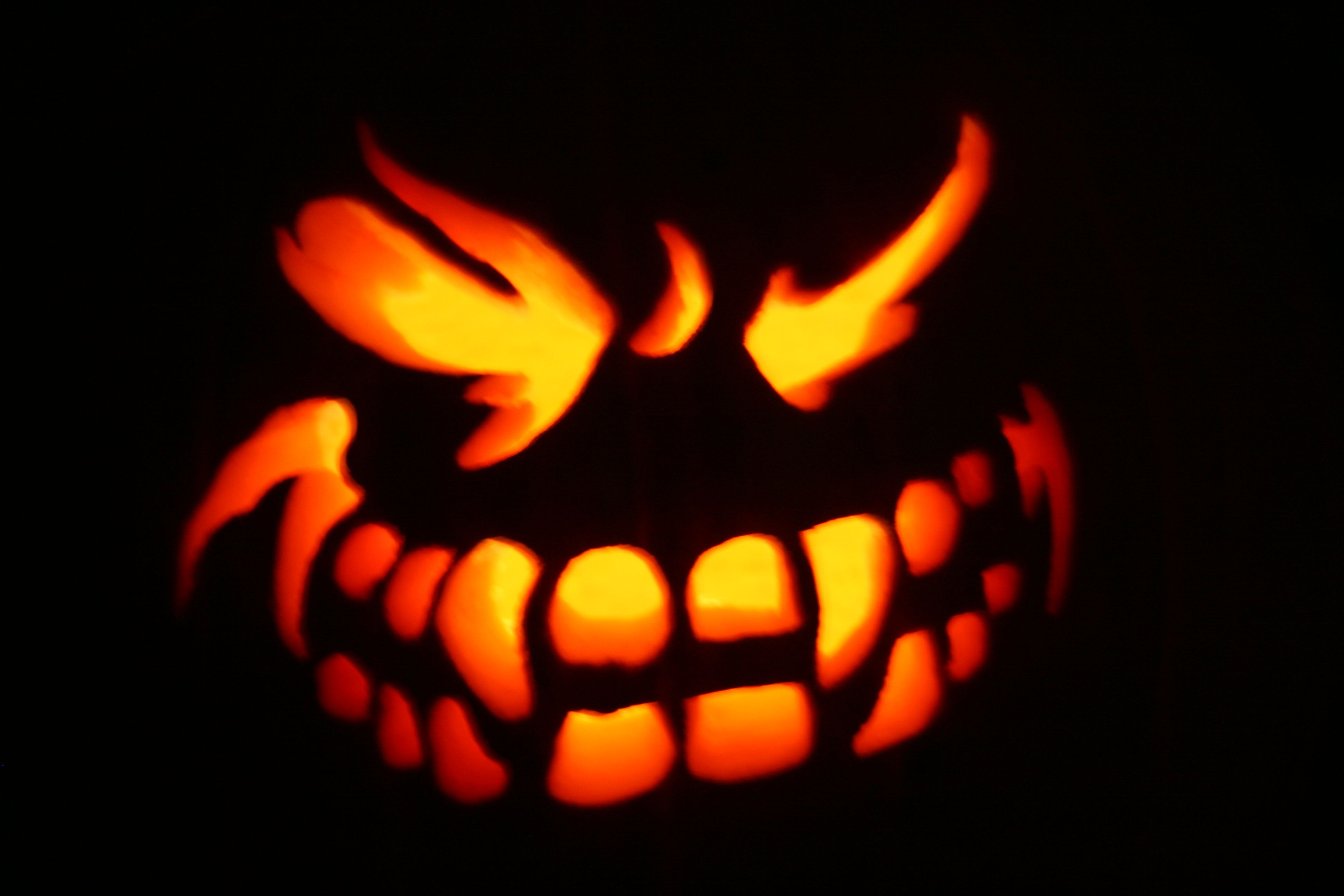 This is the picture I wanted to carve in my pumpking but it seemed too difficult.