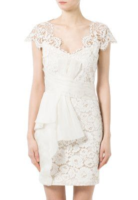 Marchesa Notte Vestito elegante - beige