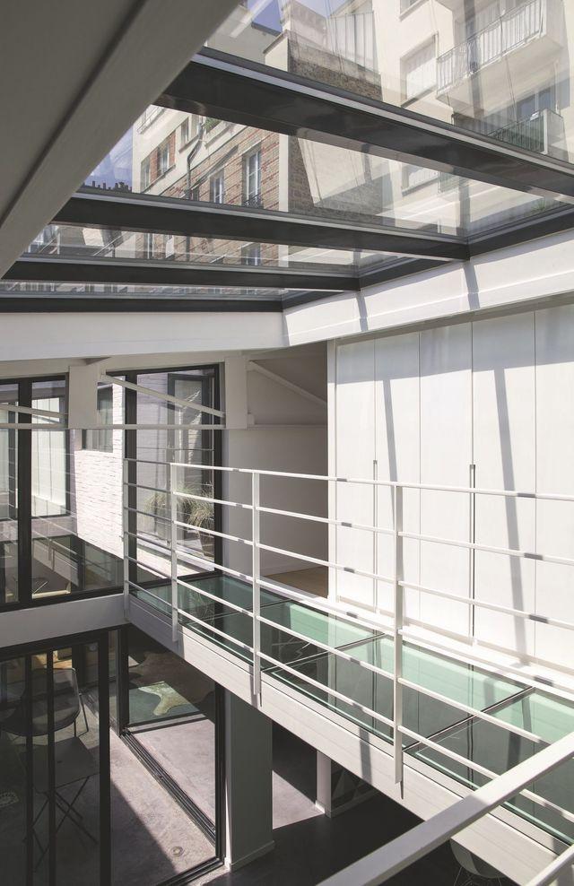 Loft Boulogne-Billancourt : 210 m2 tournés vers l\'extérieur | Lofts