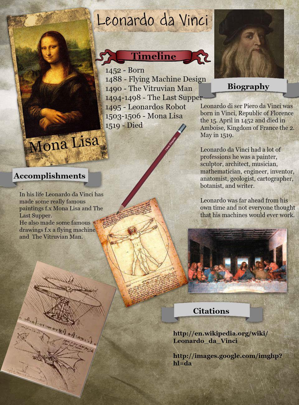 Leonardo Da Vinci Com Imagens