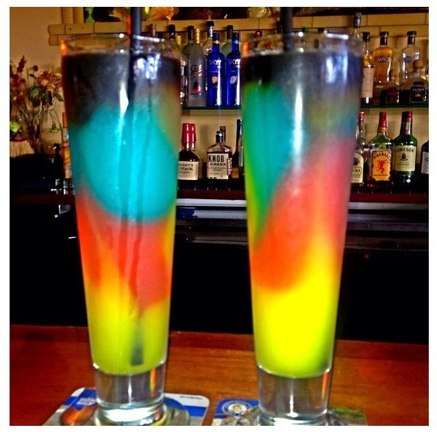 Rainbow alcoholic drinks for 7 and 7 drink recipe