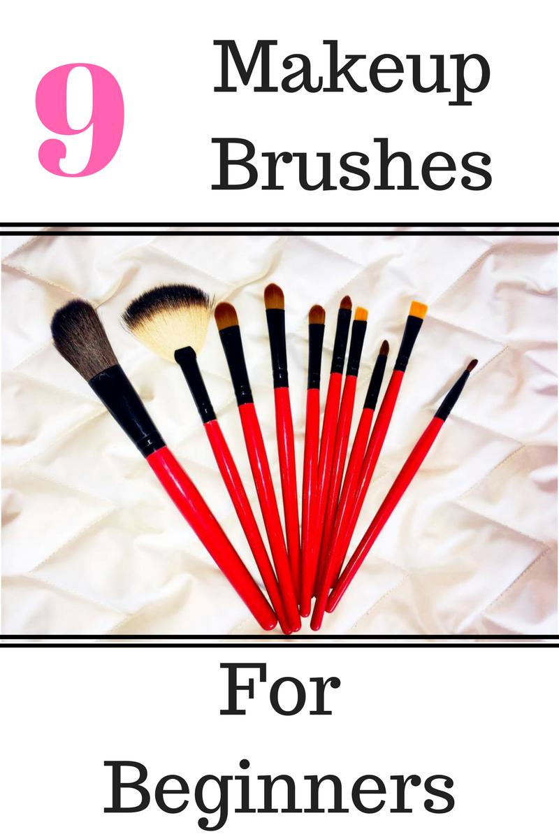 tips4chiks 9 Basic Makeup Brushes For Beginners Basic