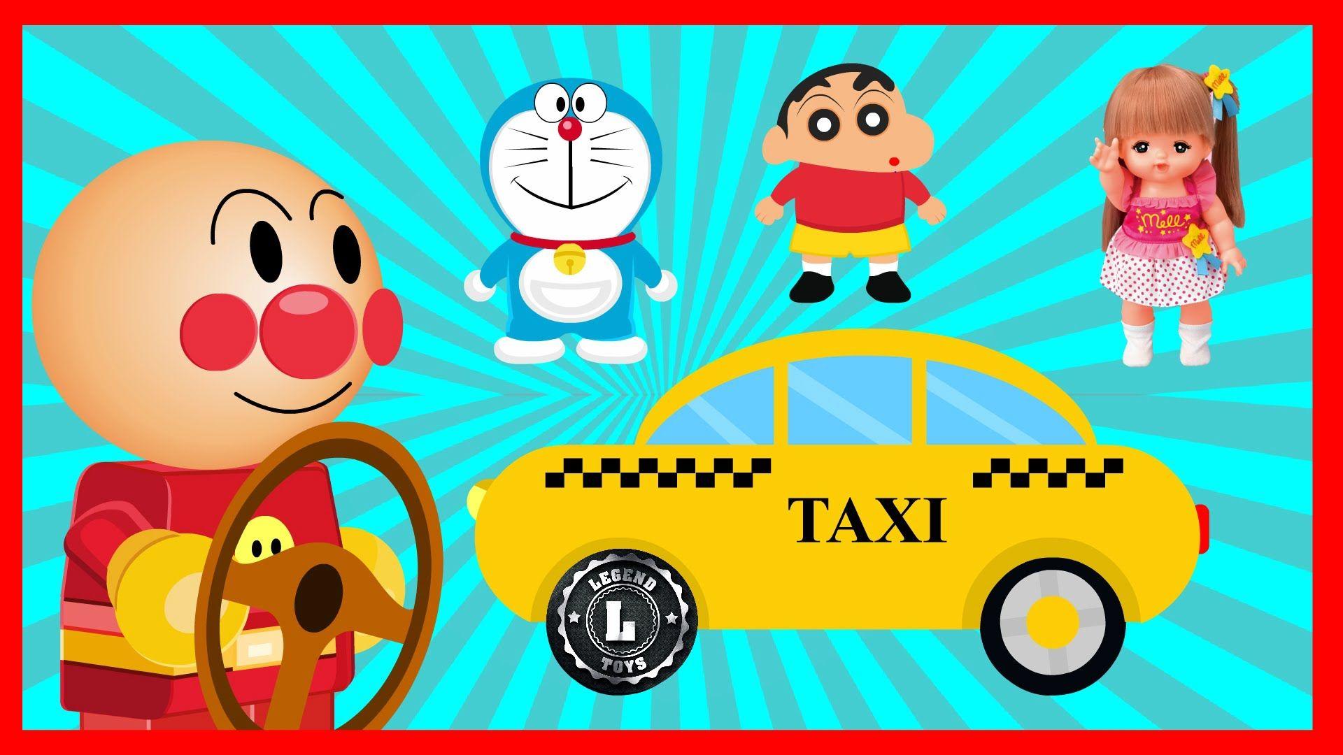 Anpanman Toys Anime Extra Edition 04 Taxi Anpanman with