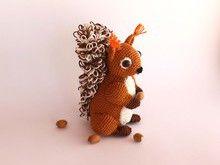 Häkelanleitung Eichhörnchen Amigurumi Chipmunks Squirrels