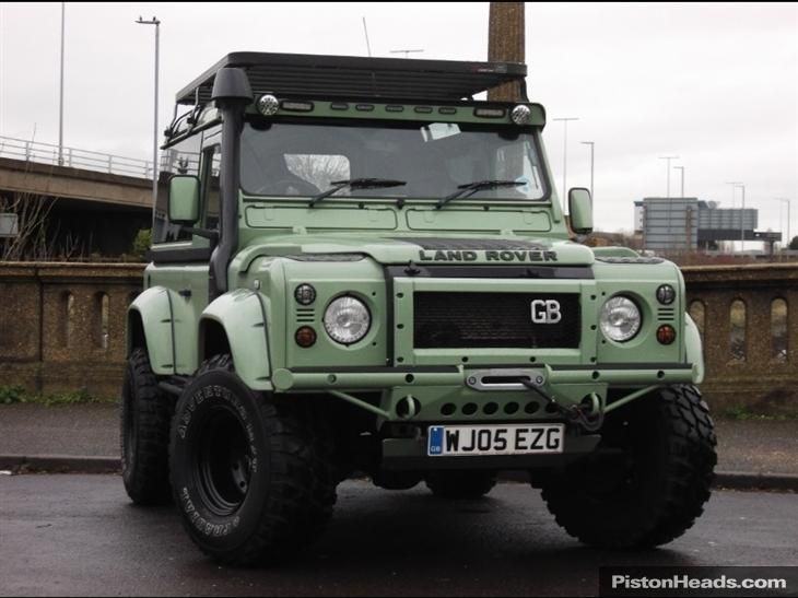 Land Rover Defender In Nice Green Color Land Rover Defender Land Rover Defender