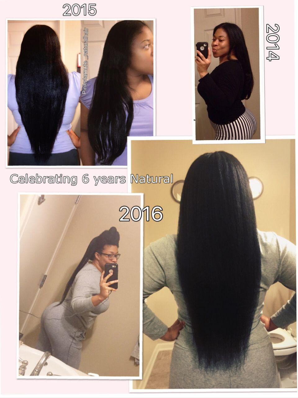 6 Years Natural Tailbone Length Hip Length Hair Natural Black Hair Growth Waist Length Hair
