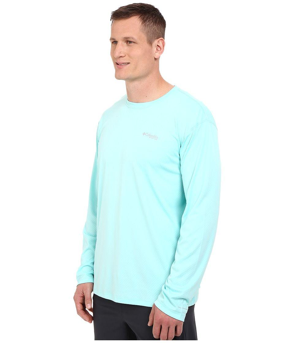 Columbia Mens PFG Zero Rules/¿ S//S Shirt Gulf Stream Shirt