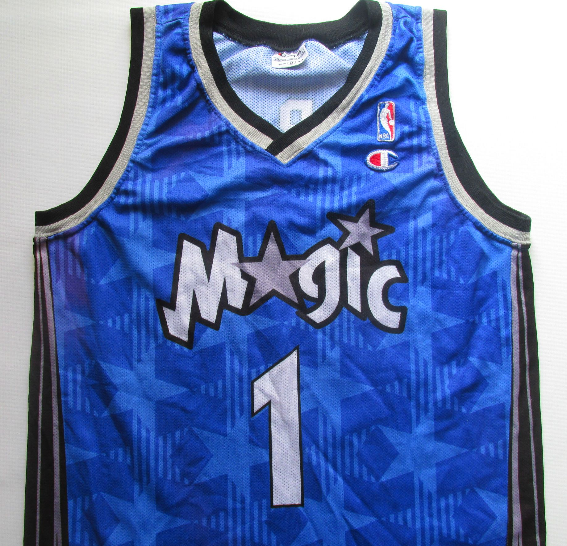 cf6f8569 NBA Orlando Magic Tracy McGrady basketball jersey by Champion #NBA  #OrlandoMagic #Magic #