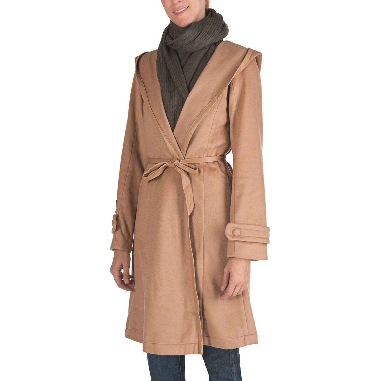 d6bc0303f6 EMU Australia Harrington Hooded Wrap Jacket - Merino Wool (For Women ...