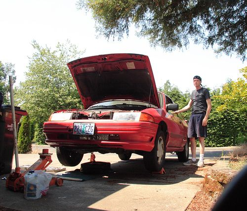 Oil Change, Antique Cars, Change