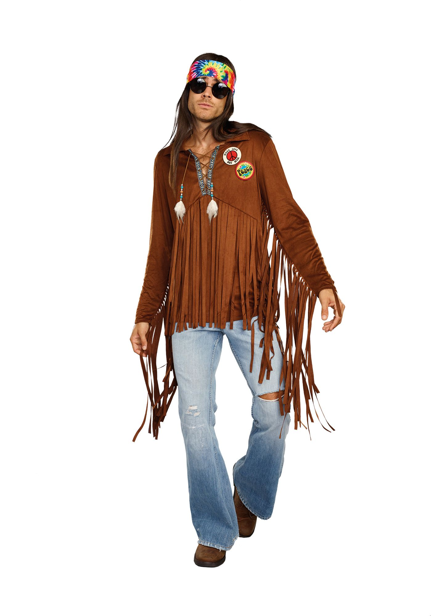 Hippie Dude Costume in 2020 (With images) Hippie outfits