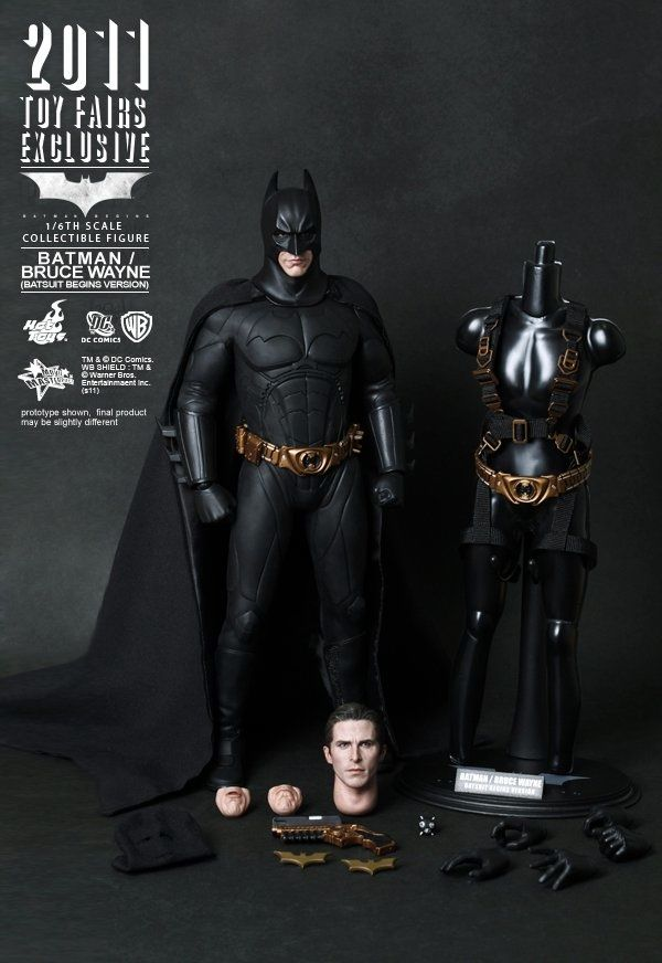 Awesome BATMAN BEGINS 1/6 Scale Action Figure from Hot Toys — GeekTyrant