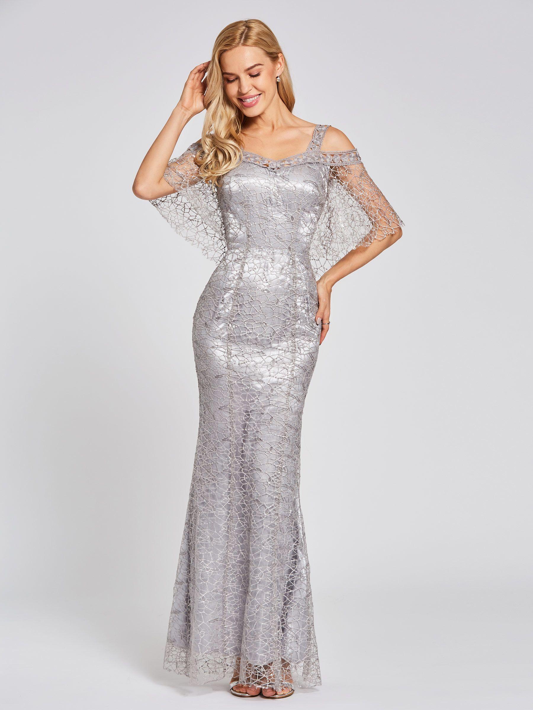 4f5dd74e18990 Straps Lace Trumpet Floor-Length Evening Dress in 2019 | TBdress ...