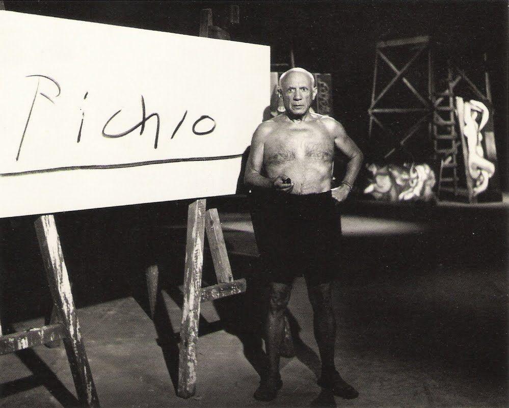 La signature de Picasso. 1965  Edward Quinn