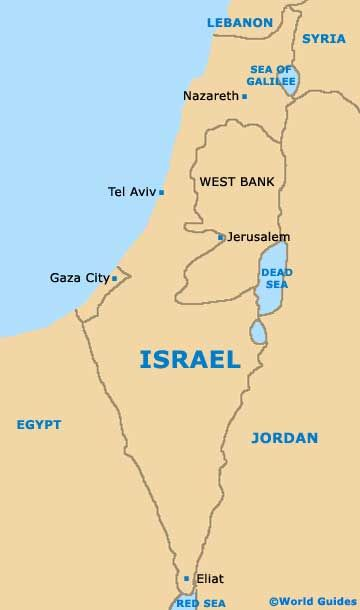 the road from jerusalem to jericho map  Yahoo Image Search