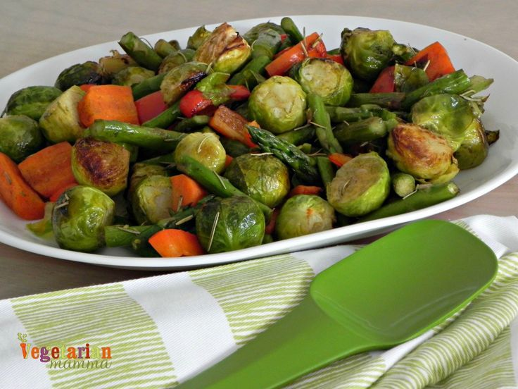 Roasted Vegetable Side Dish –   - Vegetarian Mamma Gluten-Free Recipes -