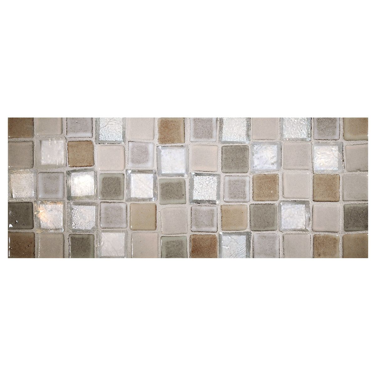 Complete Tile Collection Prodigy Ceramic 1 X 1 Square Mosaic Tile Blend Xii Snow White Bone Ivory Ash Oxy With Images Ceramic Mosaic Tile Mosaic Tiles Ceramics